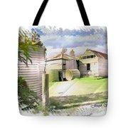Do-00027 Old Cottage Tote Bag