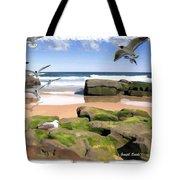 Do-00046 Birdie Beach Tote Bag