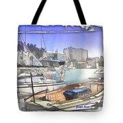 Do-00048 Cullen Bay Tote Bag