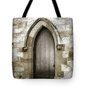 Do-00055 Chapels Door In Morpeth Village Tote Bag