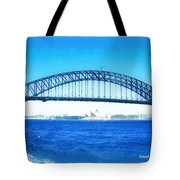 Do-00057 Harbour Bridge Tote Bag