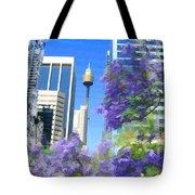 Do-00106 Spring In Sydney Tote Bag