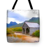 Do-00107 Boat House Tote Bag