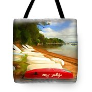 Do-00125 Tender Boats Tote Bag