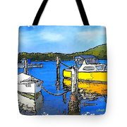 Do-00147 Resting Boats Tote Bag