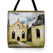 Do-00247 Church At Port Arthur Tote Bag