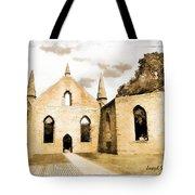 Do-00248 Church At Port Arthur Tote Bag