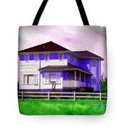 Do-00258 House In Grindelwald Swiss Village Tote Bag