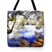 Do-00282 Cockrone Trees Tote Bag