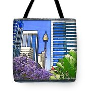 Do-00285 Sydney Centre Tower In Spring Tote Bag
