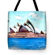 Do-00293 Sydney Opera House Tote Bag