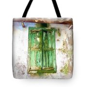 Do-00320 Soaked Window Tote Bag