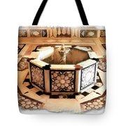 Do-00323 Old Bath Fountain Tote Bag