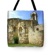 Do-00344 Church Of St John Marcus In Byblos Tote Bag
