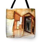 Do-00345 Display Door In The Souk Of Byblos Tote Bag