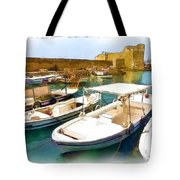 Do-00350 Byblos Port Tote Bag