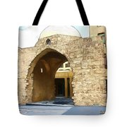 Do-00365 Historic Tomb In Downtown Tote Bag