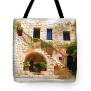 Do-00374 Old Building In Deir El-kamar Tote Bag