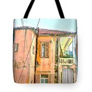 Do-00386 Old Building In Mar Mikhael Tote Bag