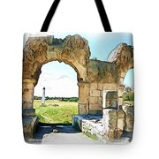 Do-00409 View On Arena In Tyr Tote Bag