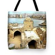 Do-00428 Citadel Looking On Sidon Tote Bag