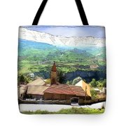 Do-00434 Church In North Lebanon Tote Bag