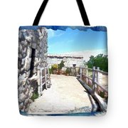 Do-00459 Mar Charbel Aanaya Tote Bag