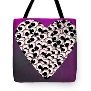 Do Not Look At The Eyes Of Envy Tote Bag