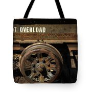 Do Not Overload Tote Bag
