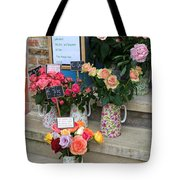 Do Not Touch The Floral Display Tote Bag