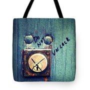 Do Not Unlock Tote Bag