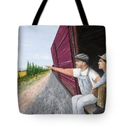 Do You Think They Have Rabbits Tote Bag by Kevin Daly