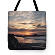 Doagh Island Sunset 3 Tote Bag