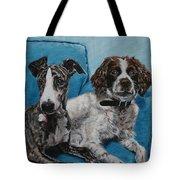 Dobby And Mocha Tote Bag