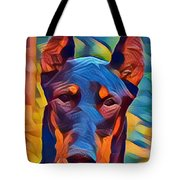 Doberman I C Tote Bag