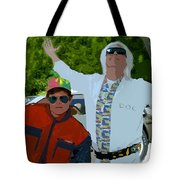 Doc And Marty Tote Bag