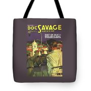 Doc Savage Dust Of Death Tote Bag