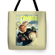 Doc Savage Fortress Of Solitude Tote Bag