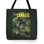Doc Savage Strange Fish Tote Bag