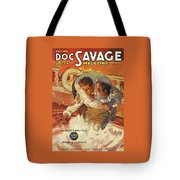 Doc Savage The Black Spot Tote Bag