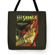 Doc Savage The Fantastic Island Tote Bag