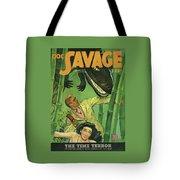 Doc Savage The Time Terror Tote Bag