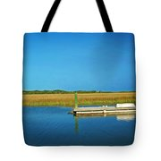 Dock And Marshes Tote Bag