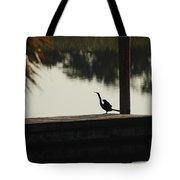 Dock Bird In Color Tote Bag