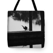 Dock Bird Tote Bag