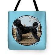 Dock Dog  Tote Bag