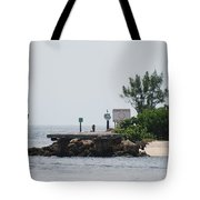 Dock Girl Tote Bag