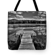 Dock On The Moose River Tote Bag