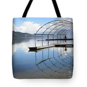Dock Reflection Tote Bag