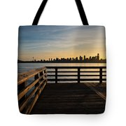 Dock With A View Tote Bag